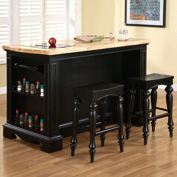 Burkhart Kitchen Island Set by Darby Home Co