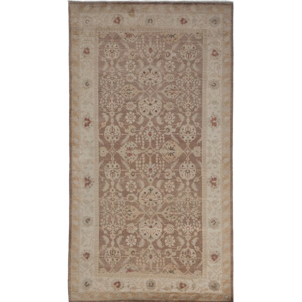One-of-a-Kind Oushak Hand-Knotted Beige Area Rug by Solo Rugs