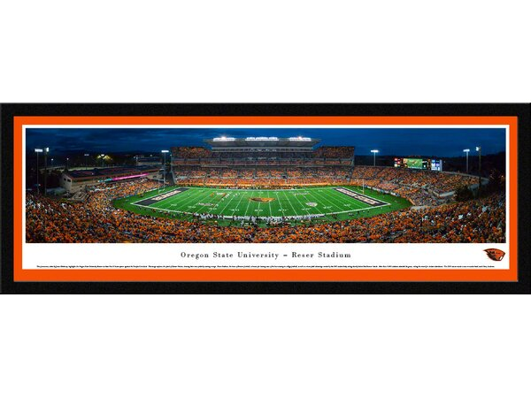 NCAA Oregon State University - Civil War by James Blakeway Framed Photographic Print by Blakeway Worldwide Panoramas, Inc