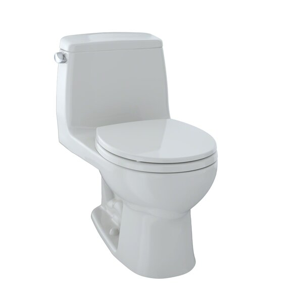 Ultimate Power Gravity Low Consumption 1.6 GPF Round One-Piece Toilet by Toto