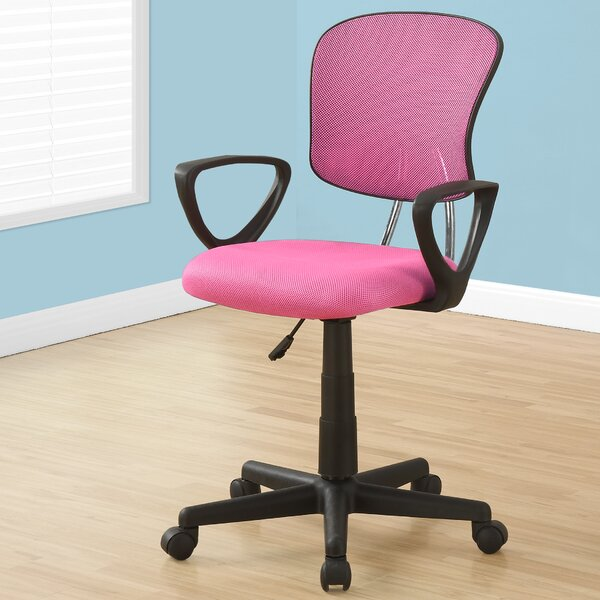 Elisha Mid-Back Mesh Desk Chair by Monarch Specialties Inc.