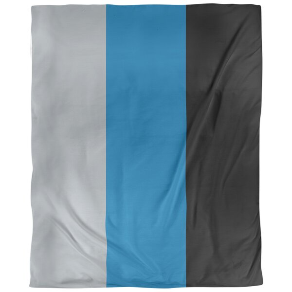 Detroit Arizona Football Stripes Single Duvet Cover