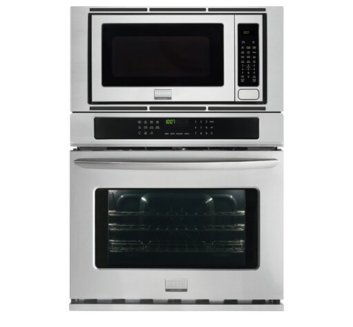 27 Convection Electric Single Wall Oven with Built-In Microwave by Frigidaire Gallery