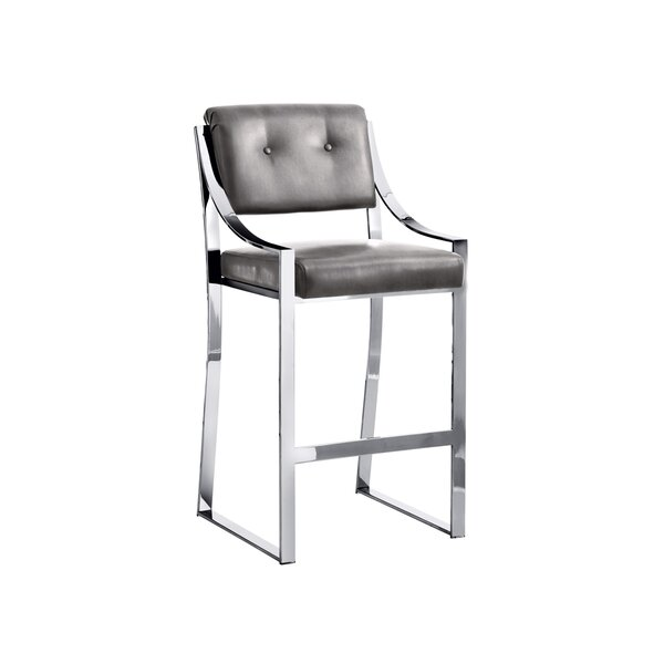 Club Savoy 29.5 Bar Stool by Sunpan Modern