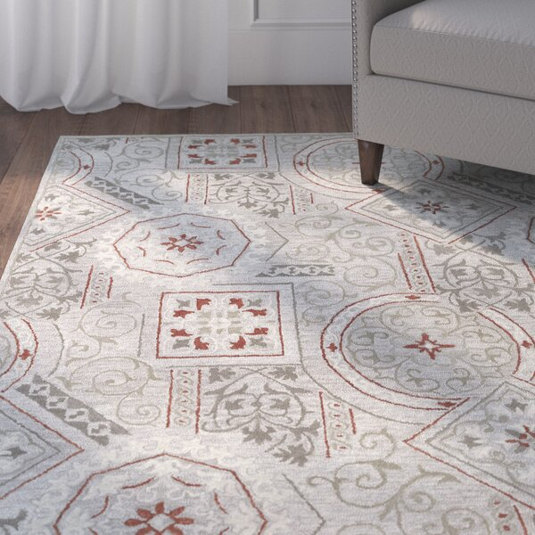 Kendal Pewter Area Rug by Winston Porter