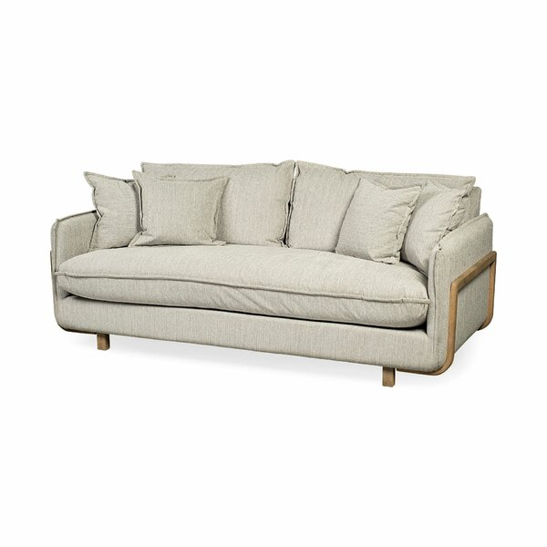 Symonds 84'' Recessed Arm Sofa by Union Rustic Union Rustic