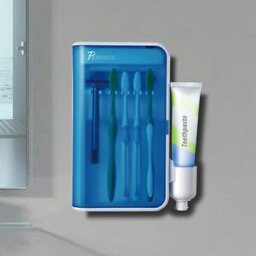 Ultraviolet Family Sanitizer Toothbrush Holder by Pursonic