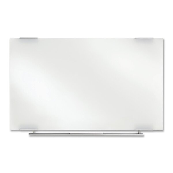 Clarity Glass Dry Erase Wall Mounted Glass Board by Iceberg Enterprises