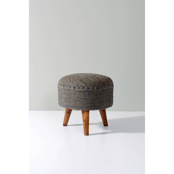 Vernonburg Round Accent Ottoman by Foundry Select