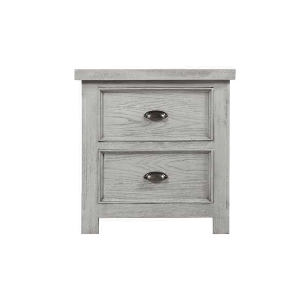 Scheller 2 Drawer Nightstand by Breakwater Bay