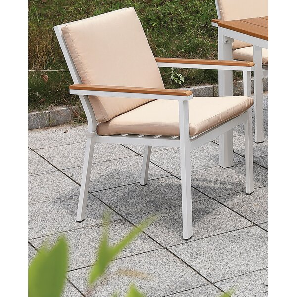 Lacey Patio Chair with Cushions by Rosecliff Heights