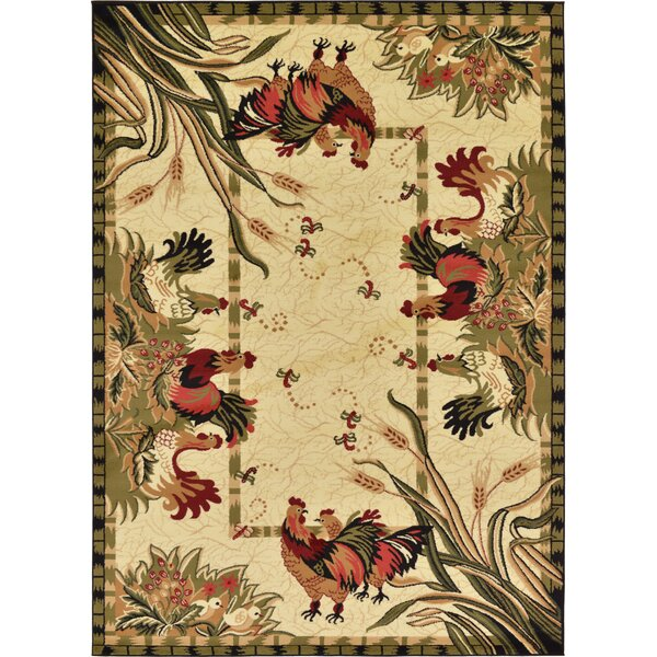 Andersonville Cream Area Rug by August Grove