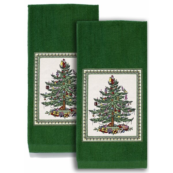 Harden Tree Kitchen Cotton Hand Towel (Set of 2) by The Holiday Aisle