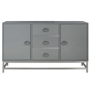 Beautiful Mccardle Modern 3 Drawer Wine Console Bar Cabinet