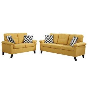 Alia 2 Piece Standard Living Room Set by George Oliver