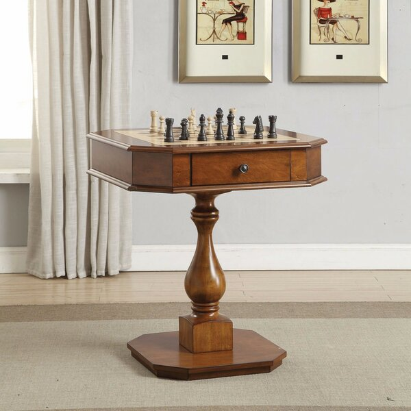28 Deutsch Chess Table by Darby Home Co