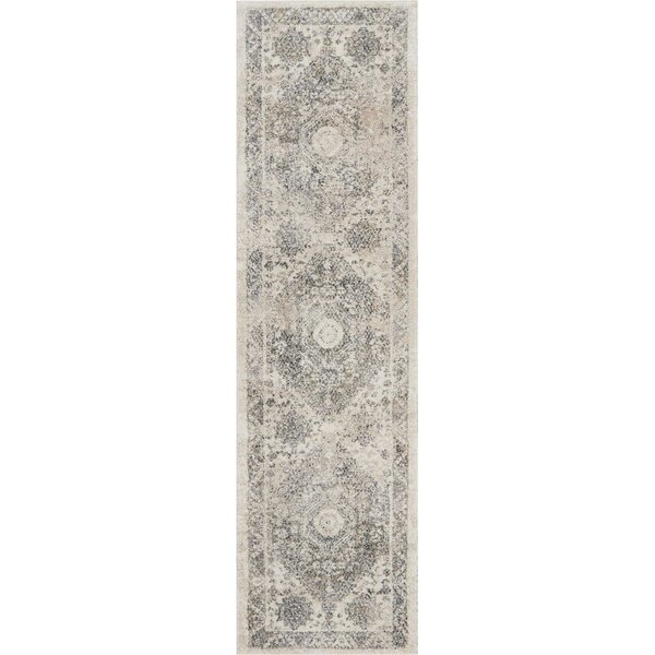 Bellock Moroccan Beige/Gray Area Rug by Bungalow Rose