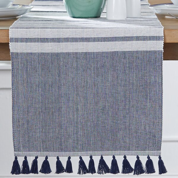 Lacona Tasseled Table Runner by Birch Lane™