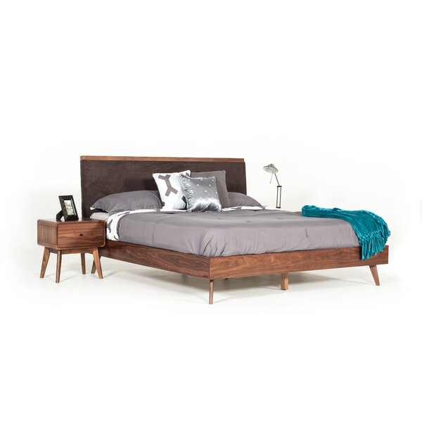 Rodney Upholstered Platform Bed by Modern Rustic Interiors