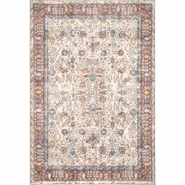 Emmer Ivory Area Rug by Bungalow Rose