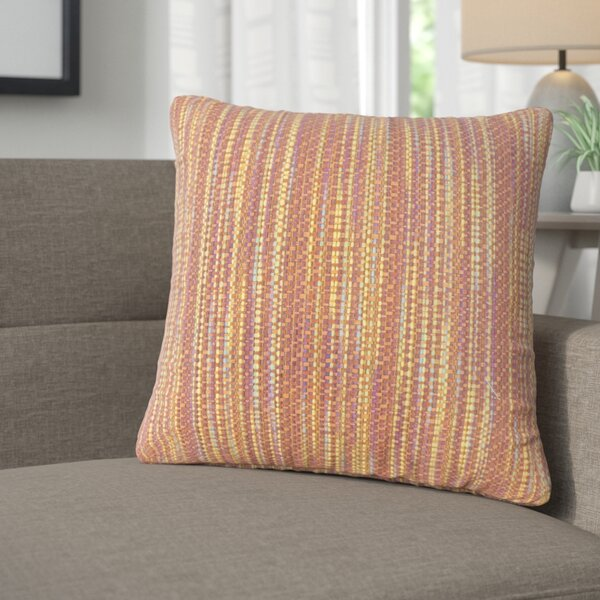 Avah Stripes Throw Pillow (Set of 2) by Corrigan Studio