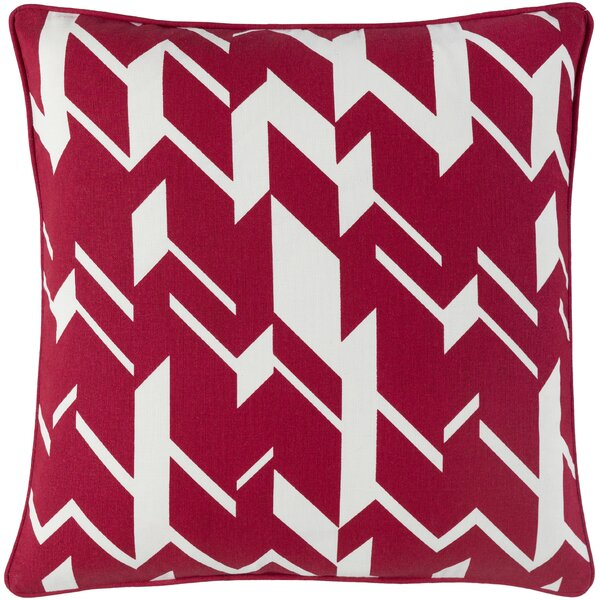 Ottman Cotton Throw Pillow Cover by Orren Ellis