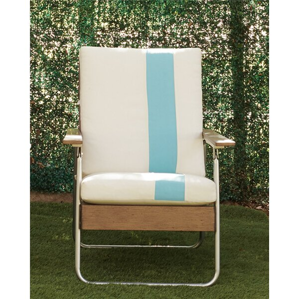 Lila Patio Chair with Cushions by Novogratz
