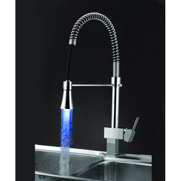 Pull Down Hot and Cold Water Dispenser with LED Light by Sumerain International Group