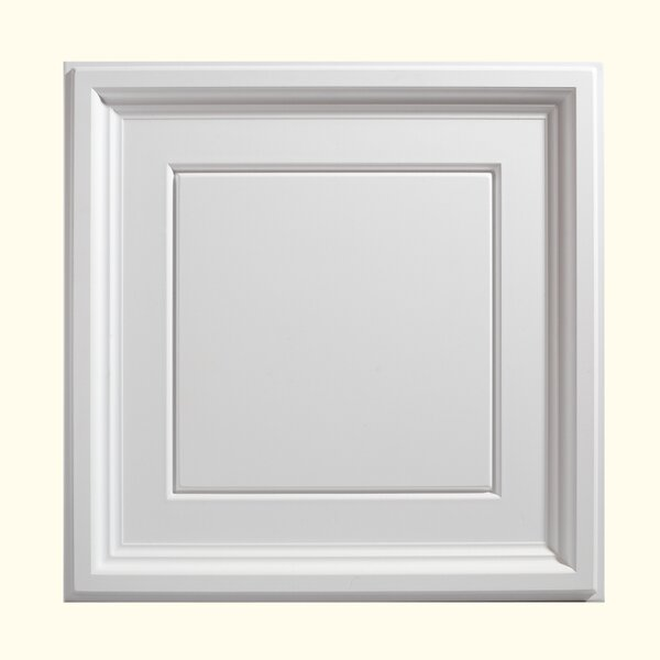 Icon Coffer 2 ft. x 2 ft. PVC Drop-In Ceiling Tile