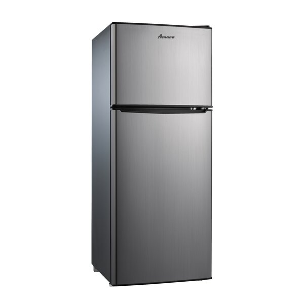 4.6 cu. ft. Compact/Mini Refrigerator with Freezer by Amana
