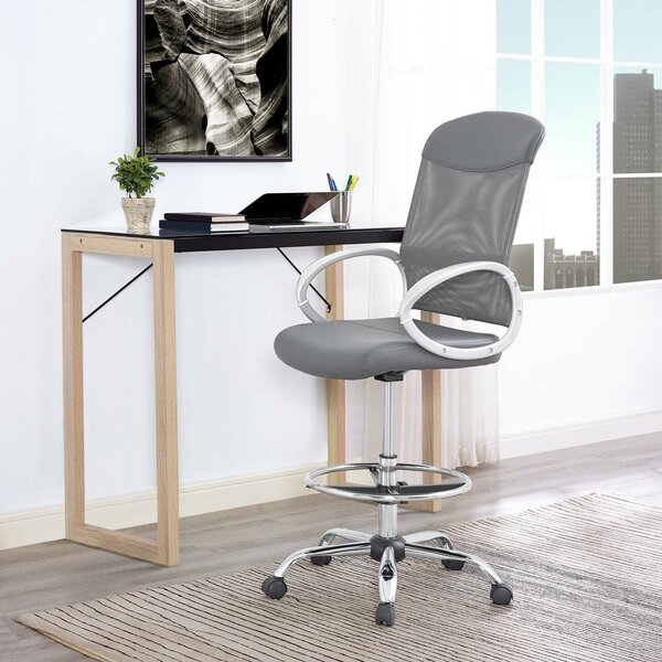 Guzzi Ergonomic Mesh Drafting Chair by Orren Ellis