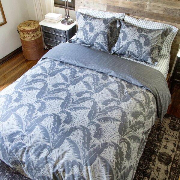 100% Cotton 2 Piece Reversible Duvet Cover Set