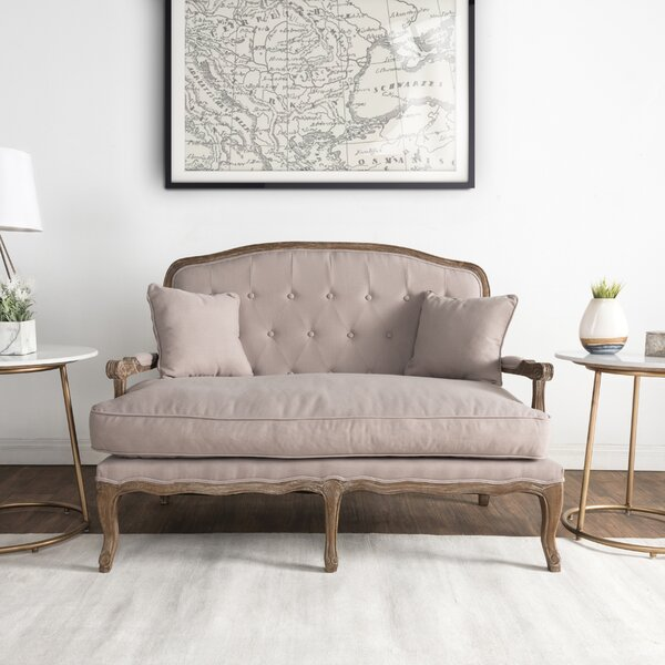 New Collection Eleanor Standard Settee by One Allium Way by One Allium Way