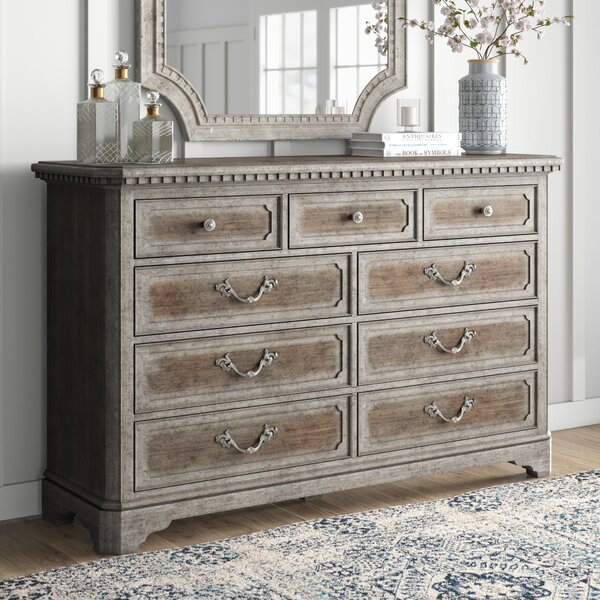 Home & Outdoor True Vintage 9 Drawer Chest