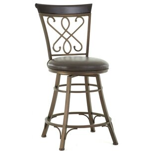 Carmona 24 Swivel Bar Stool by Steve Silver Furniture