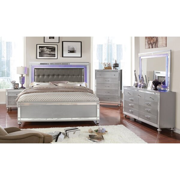 Meserve Contemporary Panel Configurable Bedroom Set by House of Hampton