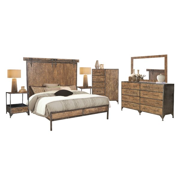 Beacon Standard 5 Piece Bedroom Set by Williston Forge