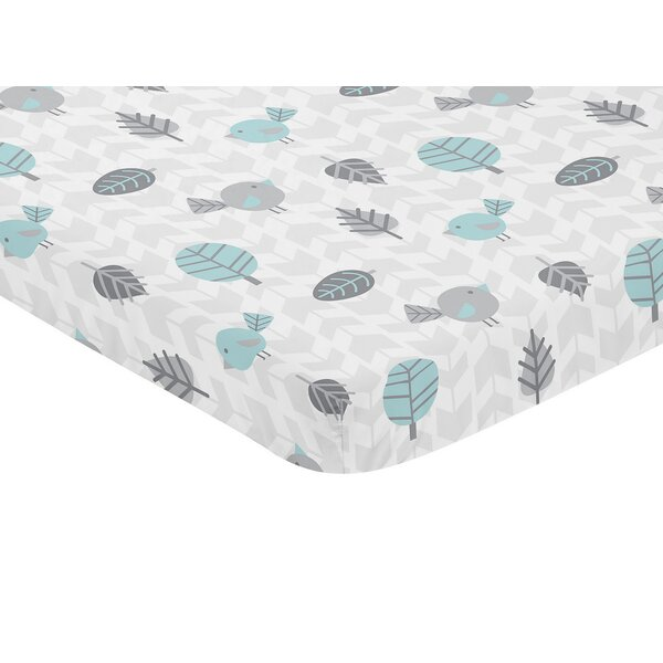 Earth and Sky Fitted Crib Sheet by Sweet Jojo Designs