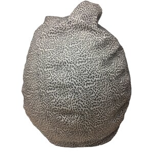 Cheetah Bean Bag Chair by B&F Manufacturing