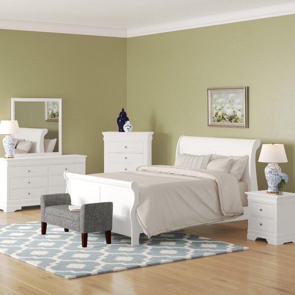 Julie Queen Sleigh 5 Piece Bedroom Set by Alcott Hill
