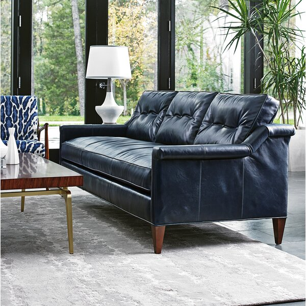 Great Value Take Five Leather Sofa by Lexington by Lexington