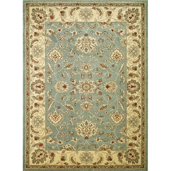 Chester Blue Oushak Area Rug by Threadbind
