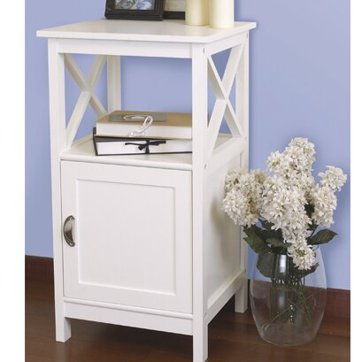 Haskins End Table With Storage By Breakwater Bay