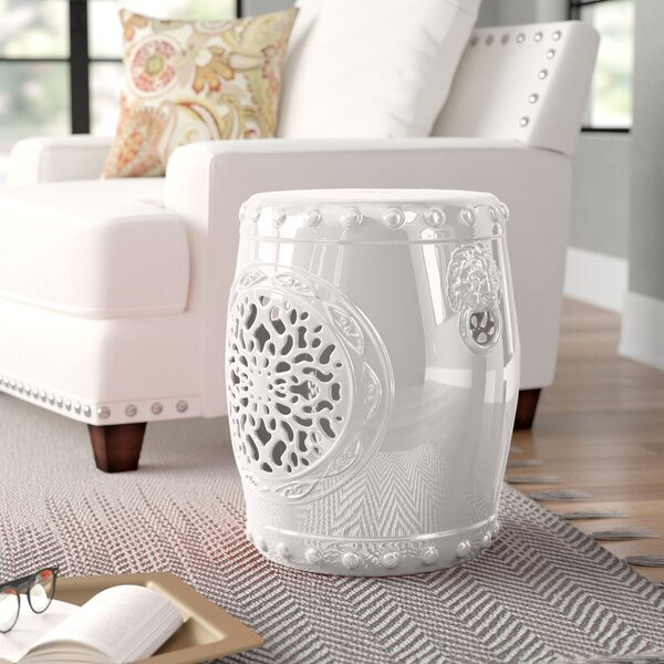 Quarryville Ceramic Garden Stool By Three Posts by Three Posts 2020 Sale