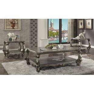 Best Reviews Welton 3 Piece Coffee Table Set ByAstoria Grand