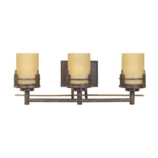 Bargain Caleigh 3-Light Vanity Light By Millwood Pines
