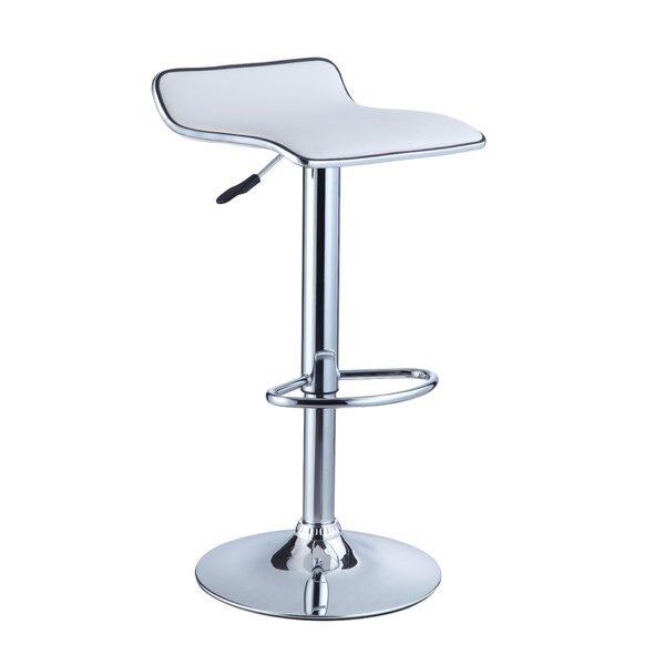 Marylou Adjustable Height Swivel Bar Stool Set Of 2 By Zipcode Design.
