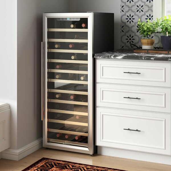 80 Bottle Single Zone Freestanding Wine Refrigerator By Kalamera