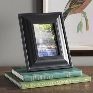 Traditional Satin Black Picture Frame