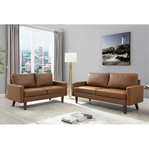 Piedmt 2 Piece Living Room Set By Wrought Studio™